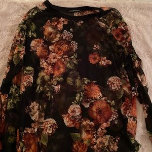 Stitch Fix West Kei Yvette Sheer Floral Top